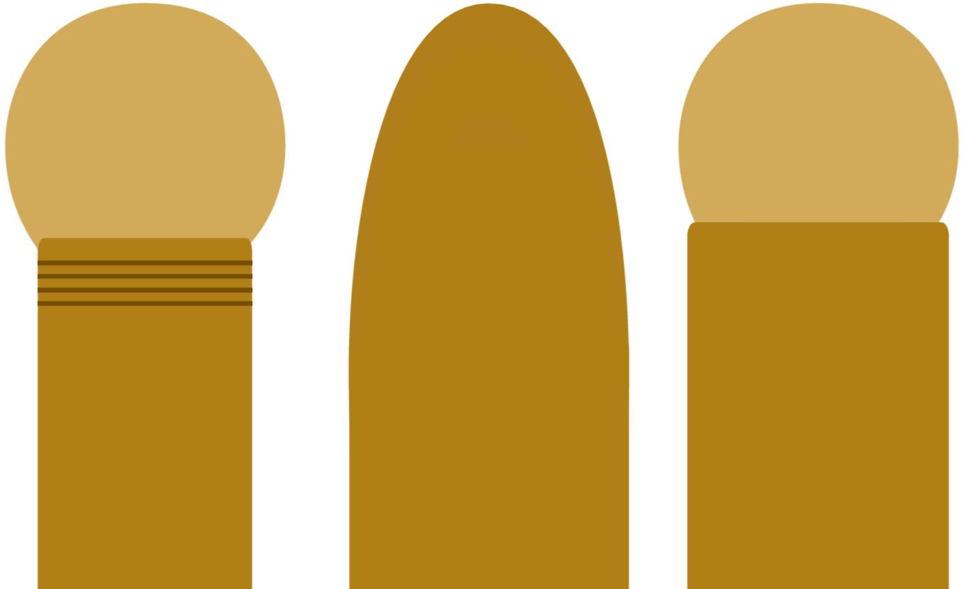 包茎3種類イラスト